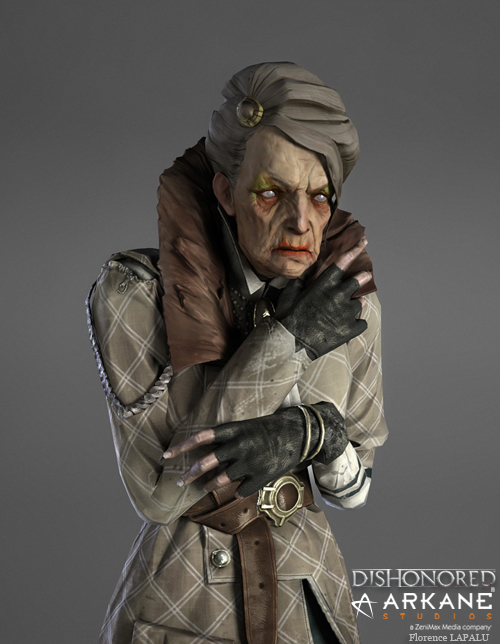 Dishonored Character by Florence Lapalu