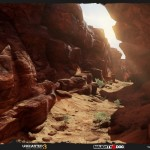 Uncharted 3 Environment Art by Anthony Vaccaro