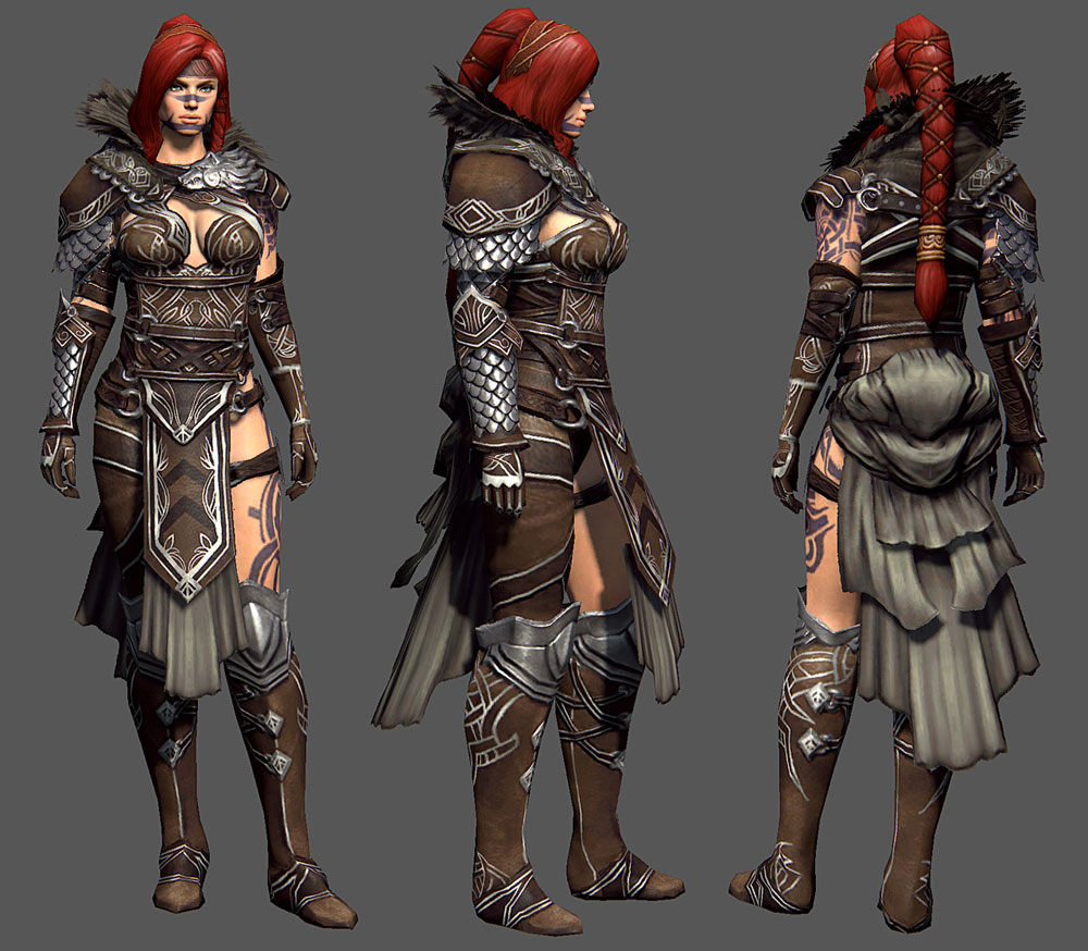 Guild Wars 2 Character Art