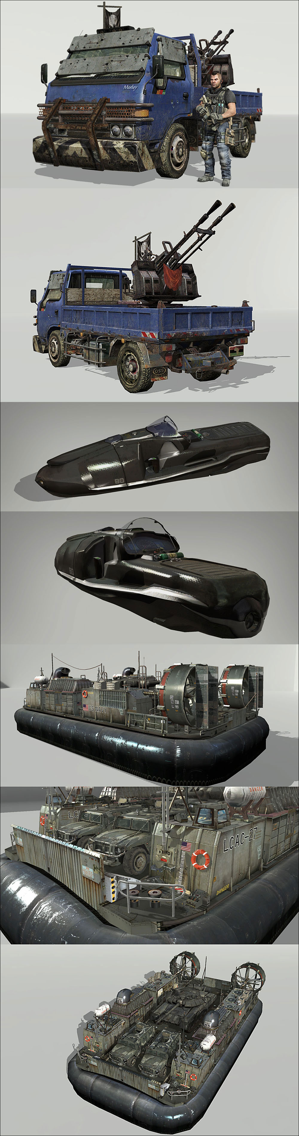 Call Of Duty : Modern Warfare 3 vehicle