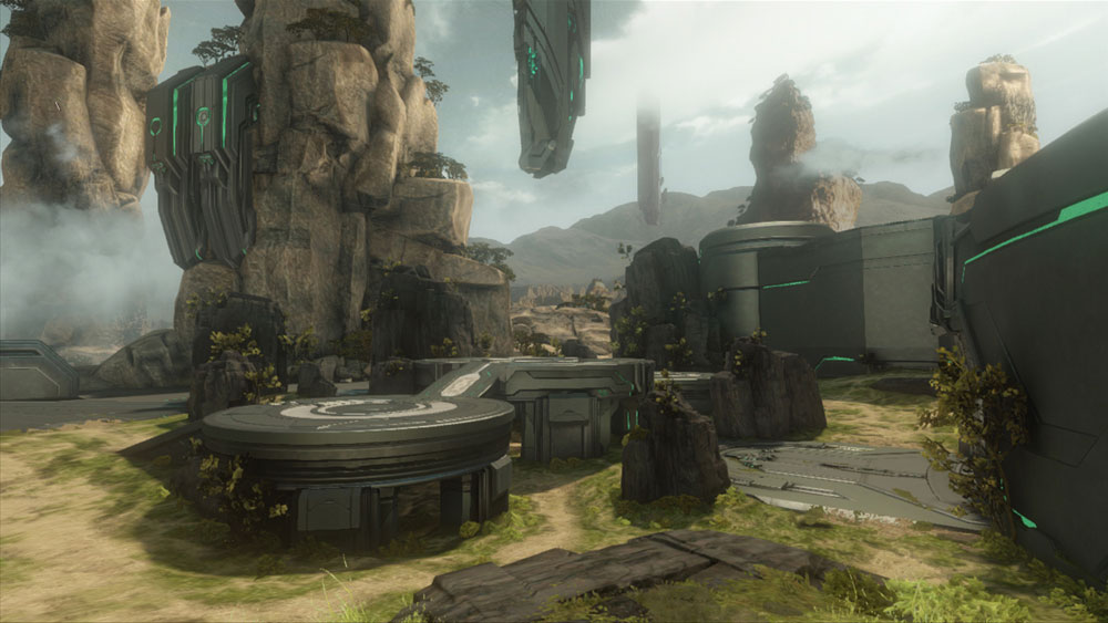Halo 4 Crimson Map Pack & Spartan Ops DLC