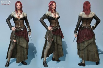 Anne Bonny Assassin's Creed IV: Black Flag Character Art by Marthin Agusta Simny