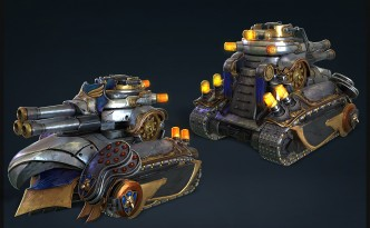Molten Games Project Blunderbuss Character Art Tank