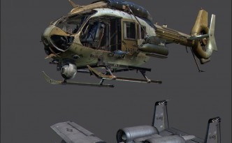 Call of Duty Ghosts Vehicle and weapon